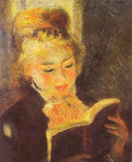 Woman Reading, 1875-1876