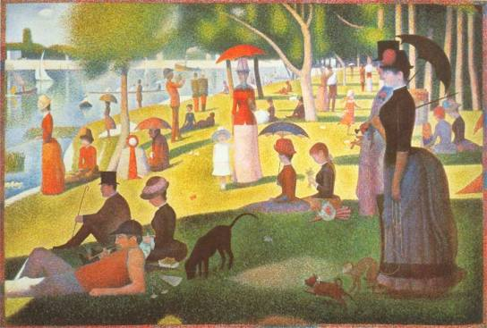 Sunday Afternoon on the Island of La Grande Jatte, 1884-1886