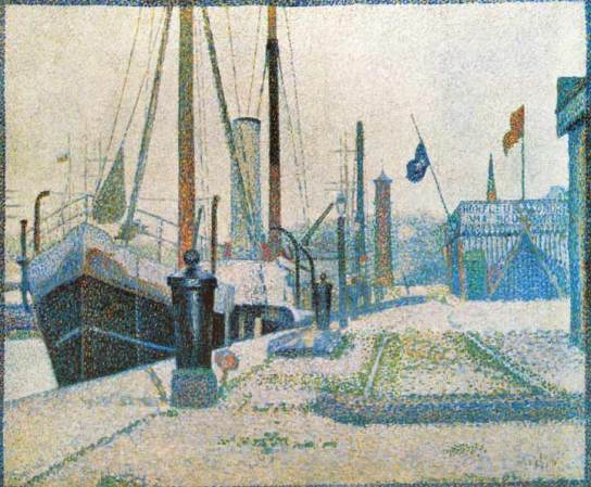 La Maria Honfleur, 1886