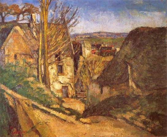 The House of The Hanged Man at Auvers, 1872-1873