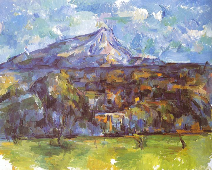Mont Sainte Victoire Seen from Les Lauves, 1904-1906