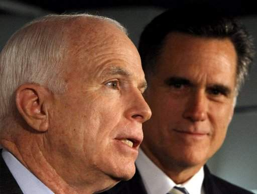 McCain/Romney vs. Obama/Biden: Landslide McCain Wins in ...