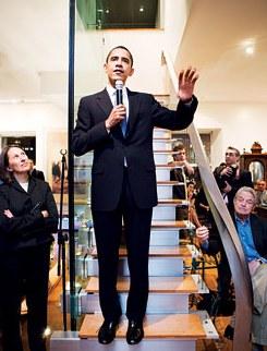 Senator Obama and George Soros