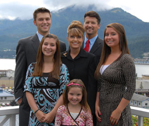 Governor Palin Family