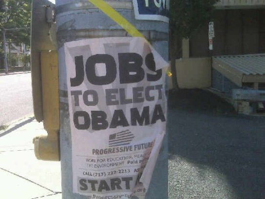 Jobs To Elect Obama--Progressive Future