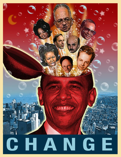 Friends Of Obama Change Poster