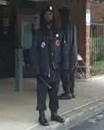 "Obama New Black Panther ""Security Guard"""
