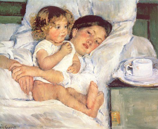 Breakfast in Bed, 1897