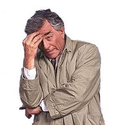 Detective Columbo Asks Senator Obama Some Questions