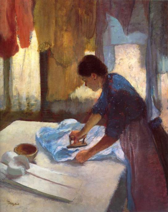 Woman Ironing, 1876-1877