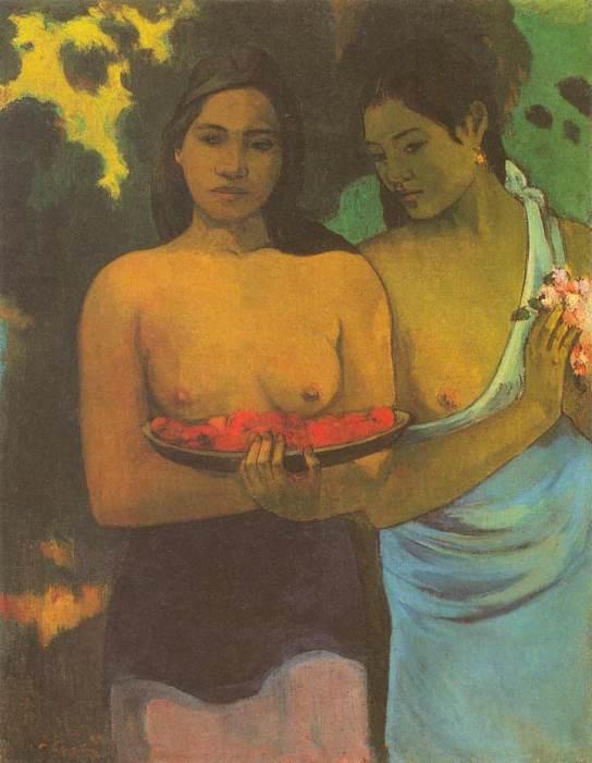 Two Tahitian Woman, 1899