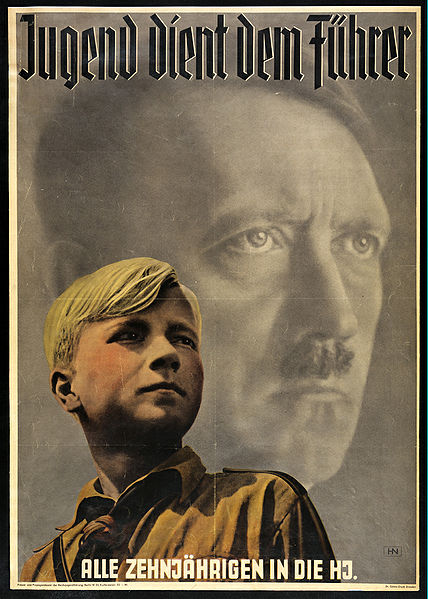 propaganda and hitler youth A new exhibition opened recently in the german city of bielefeld, showing the dark underbelly of the famed hitler youth movement using recorded testimonials, books, films, posters and other propaganda material the exhibition shows how the nazis lured german children into the official youth leagues by offering sweets, comics, and camping trips.