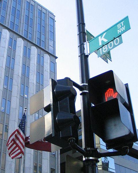 K Street Washington D.C.