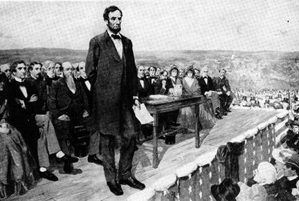 President Lincoln Gettysburg Address