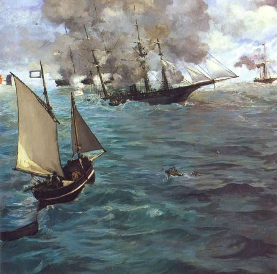 Combat of the Kearsarge and the Alabama, 1864