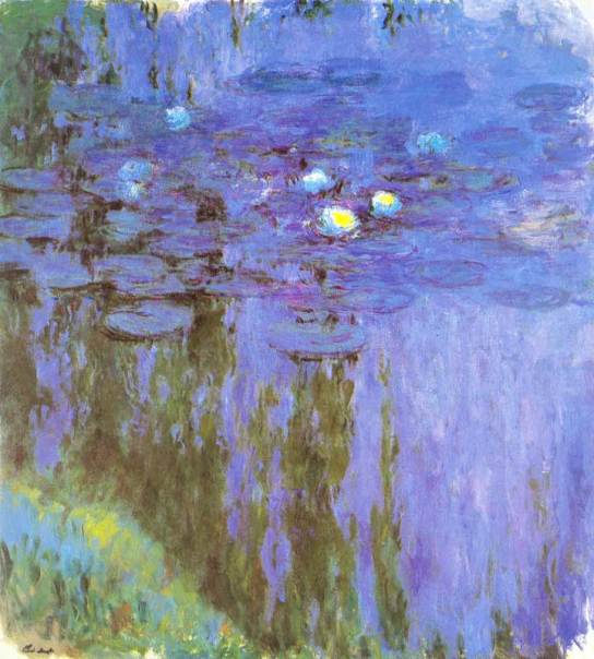 Water Lilies, 1915-1917