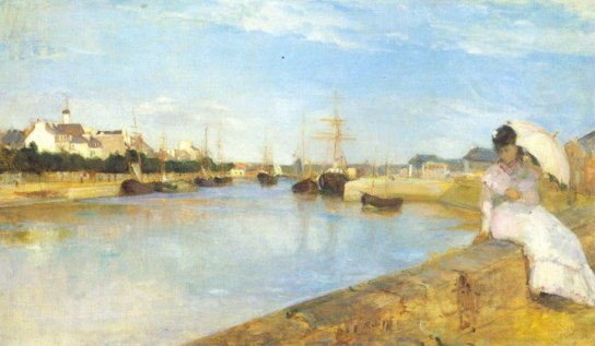 The Harbor at Lorient, 1869