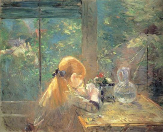 On the Veranda, 1884