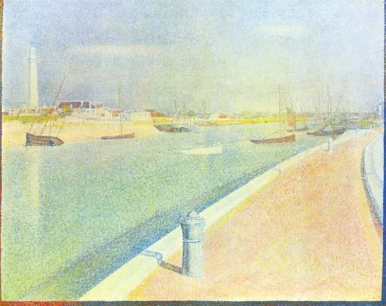 Port of Gravelines, 1890