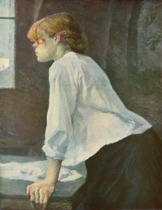 The Laundress, 1889