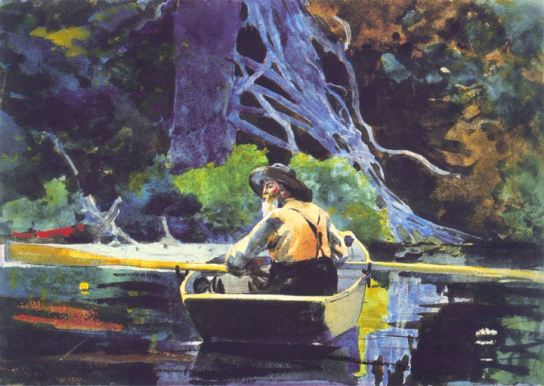 Winslow Homer, The Adirondack Guide, 1894