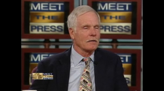 Ted Turner on Meet the Press
