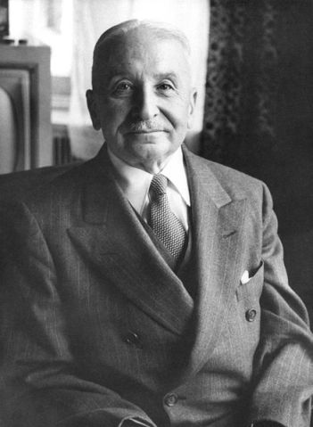 The greatest economist of the century.