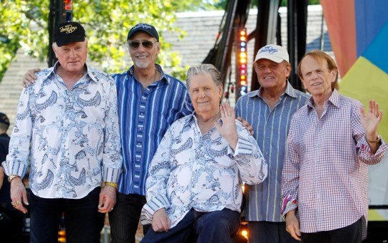 Mike Love, David Marks, Brian Wilson, Bruce Johnston, Al Jardine