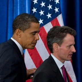 Pair of Cheaters--Obama and Geithner--They Got Caught--Reward--A Government Job