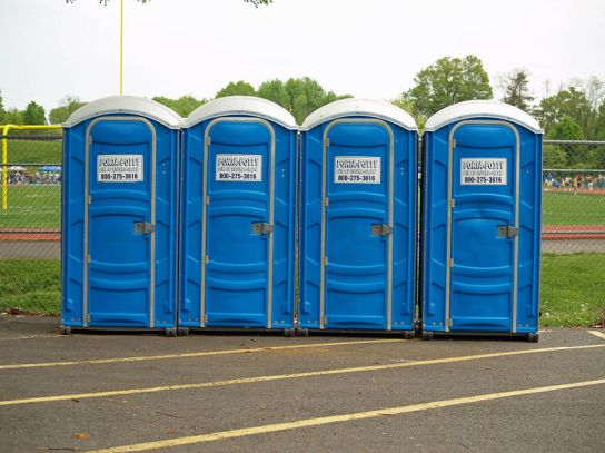 Parade Positioned Porta-Potty