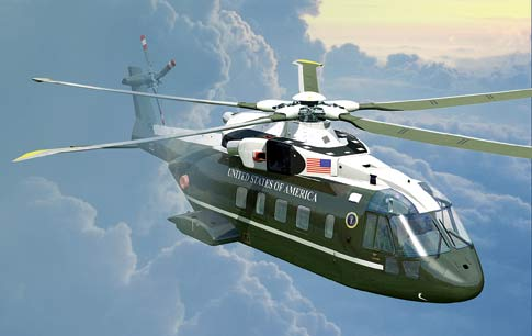 New Presidential VH-71 Helicopter