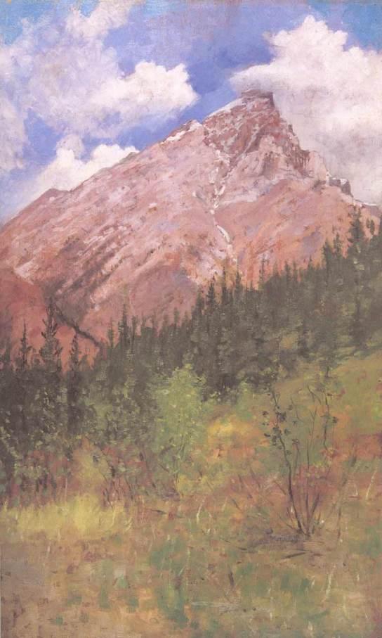 Banff Cascade Mountain, 1890
