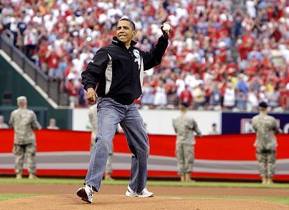 Obama All-Star Baseball