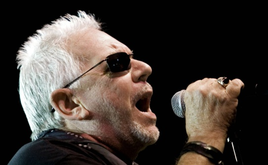 DIGITAL IMAGE /F Kitchener, Ontario - Saturday Aug 11, 2007 - Eric Burdon and the Animals perform for a large Saturday night crowd on the Main Stage at Civic Squart, part of the Kitchener Blues Festival. Photo by Nick Iwanyshyn, Record Staff. - Story by... - Request #17415 • Blues • 8:39:32 PM • 11/08/07 • Kitchener Bl