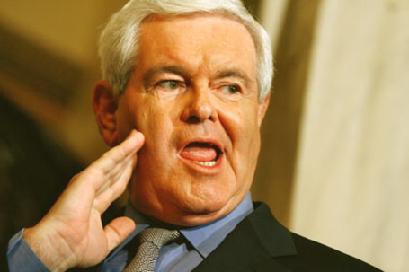 newt gingrich young. Beaver–Newt Gingrich–The