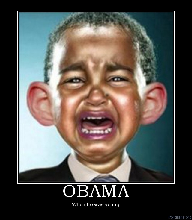 cry baby obama