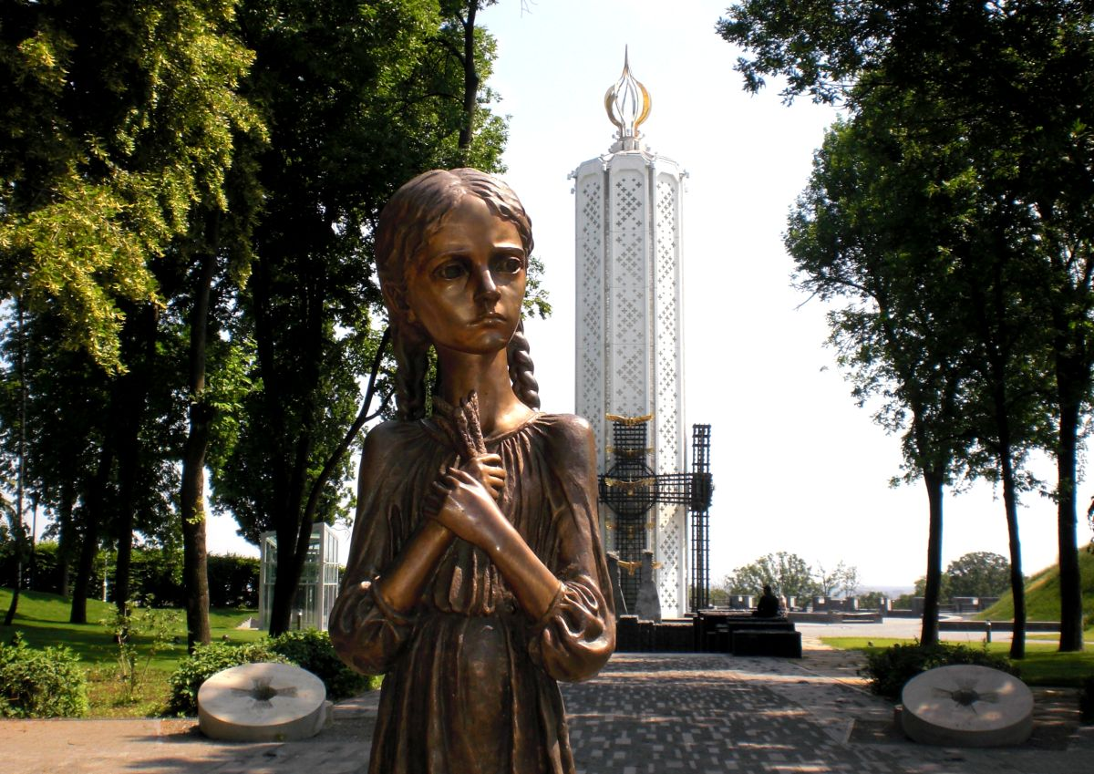 the holodomor Stalin's genocide campaign against ukraine killed up to 10 million.