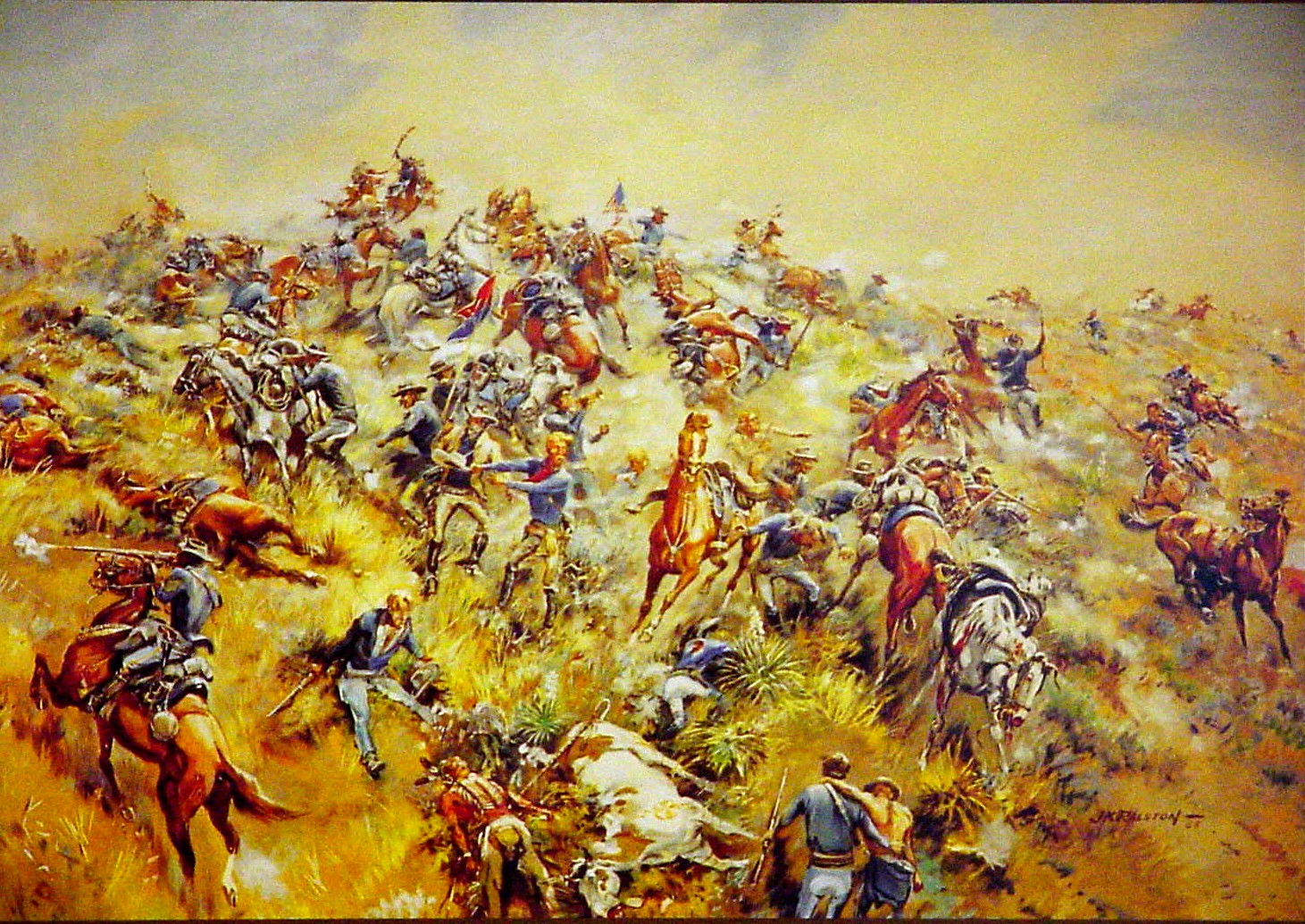battle of little big horn Find little bighorn from a vast selection of collectibles get great deals on ebay  50 out of 5 stars - 3- original battle of little big horn artifacts horseshoe.