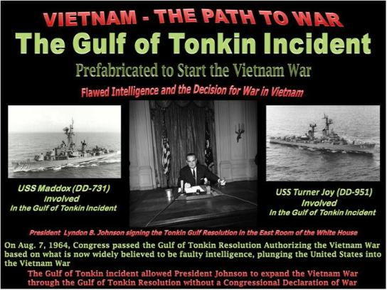 Gulf of Tonkin and The Straight of Hormuz–Neocons and ...