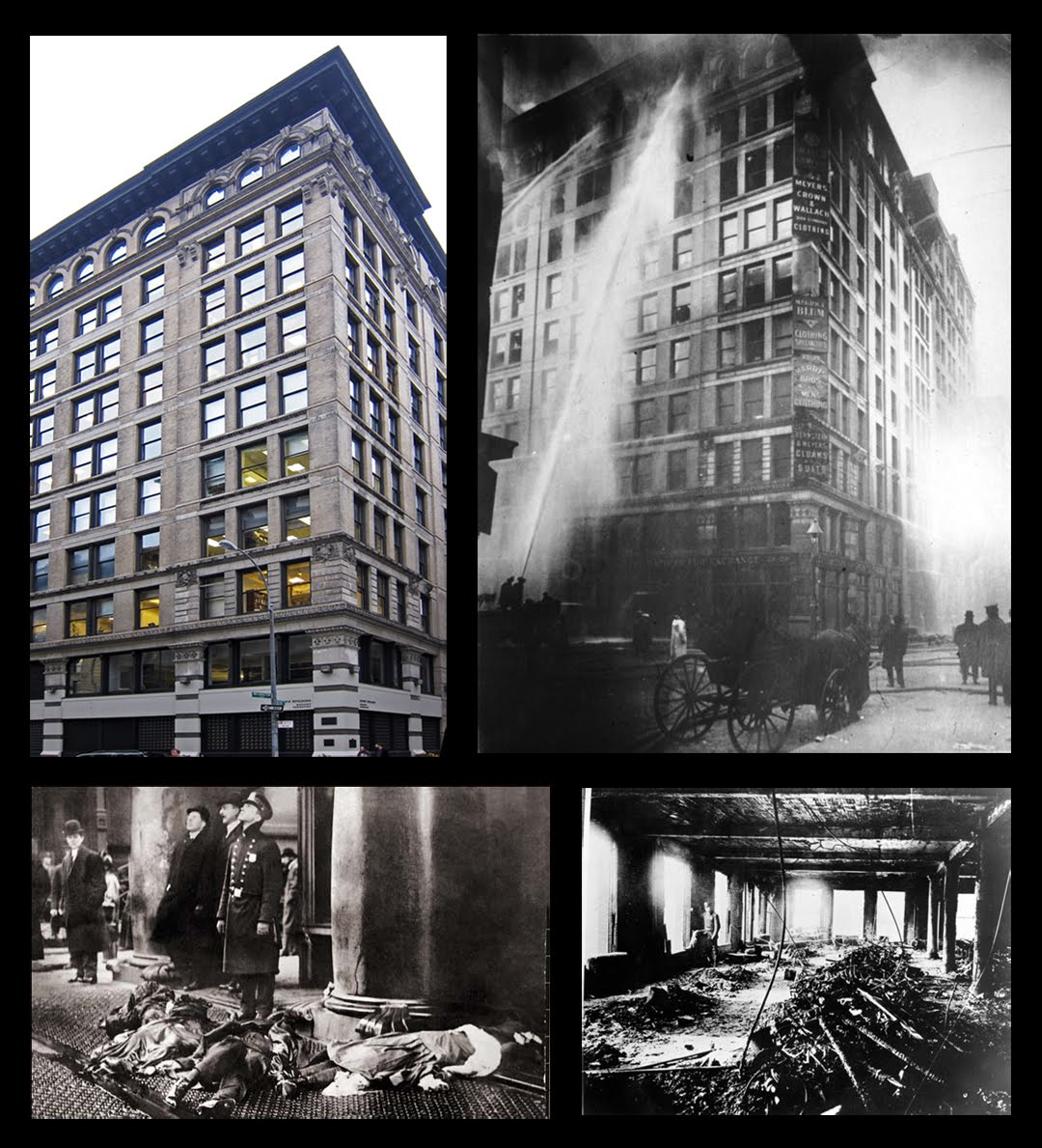 the triangle shirtwaist factory A chronicle of a tragic fire that occurred at new york city's triangle shirtwaist factory in 1911 subscribe for more history:.