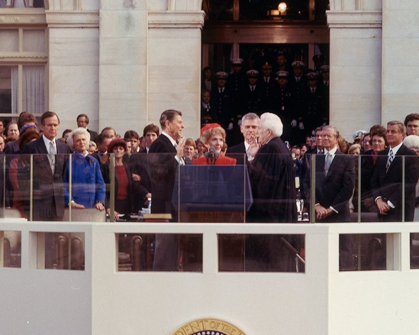 Conflict of visions obama v reagan videos pronk palisades for First president to be inaugurated on january 20