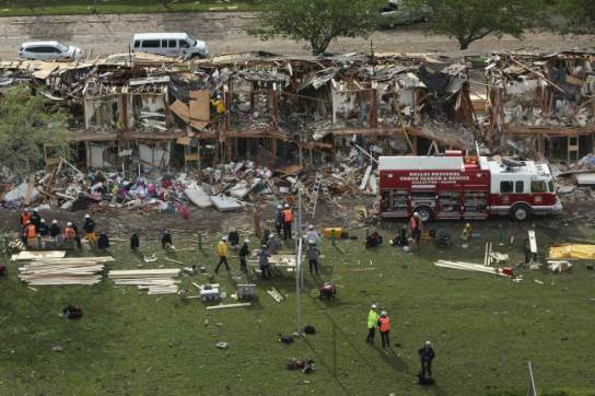 Fertilizer Plant Explosion In West, Texas
