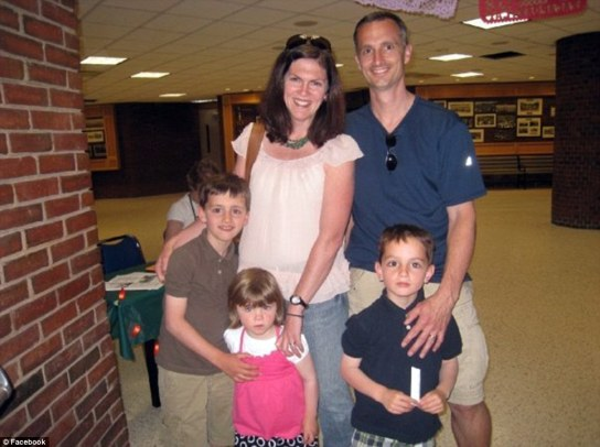 Martin_Richard, right, with his family, mother was criticallyl injured, jane lost leg