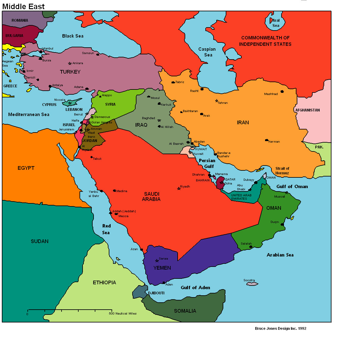 Progressive democrats and republicans and neocons want another war middle east political map 1 gumiabroncs Images