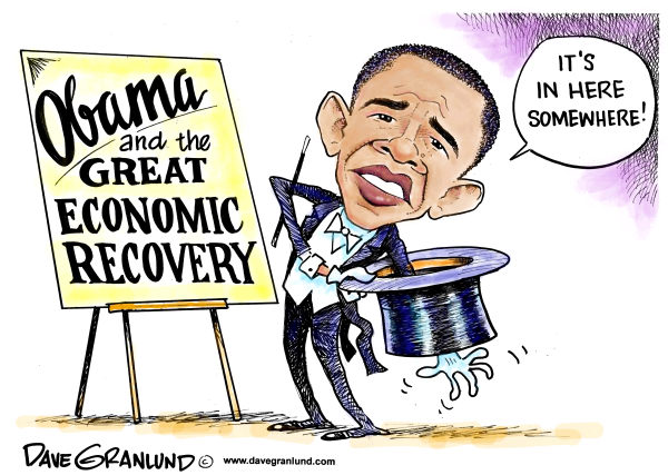 Image result for obama fake economic recovery