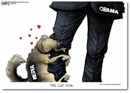 obama-media-lap-dog-leg-political-cartoon