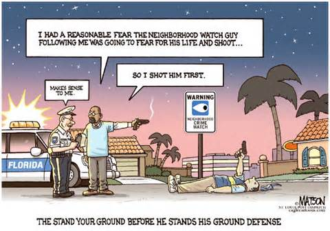 the stand your ground law Florida's stand-your-ground law, passed in 2005, was the nation's first twenty-one states have since followed the proposed changes would make florida's law the toughest for prosecutors — and .
