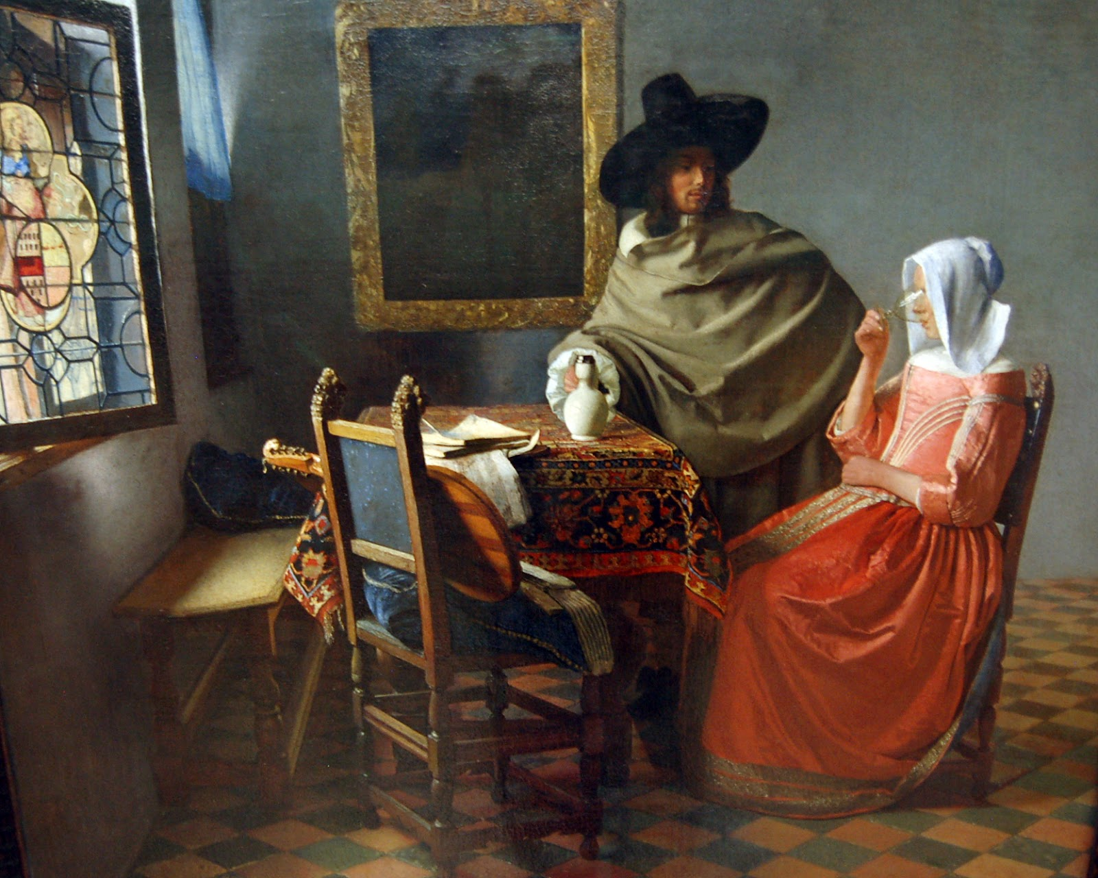 Vermeer pronk palisades for The art of painting