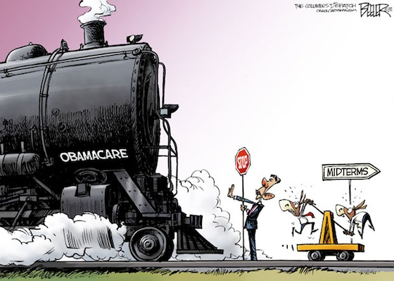 All Aboard The Train Wreck Obamacare Whitehouse Fear