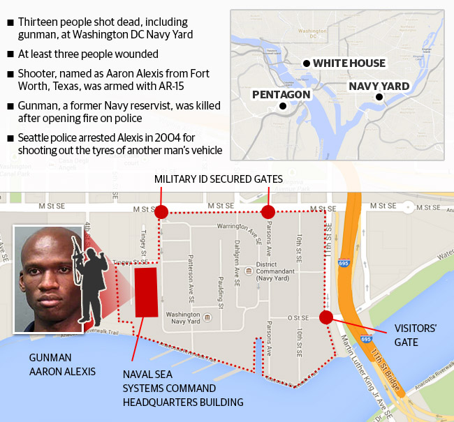 Navy Yard Shooting Fbi Video Shows Gunman Aaron Alexis: Pronk Palisades